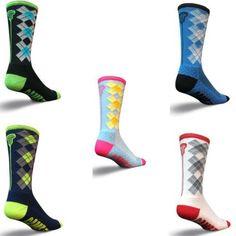 "Check Sticks 6"" Crew Socks (Multiple Colors)"