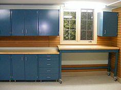 Garage Workbench Cabinet Systems : Best Garage Design Ideas