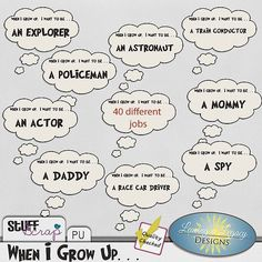 When I Grow Up! by Leaving a Legacy Designs