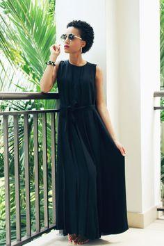 Cameo mountain sound dress black