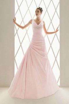 Where was this when I was getting married?!? ... I LOVED my dress, but WOW! would I have loved this one too!!! :) ... Beaded pink wedding dresses 2012