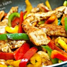 Easy Healthy Chicken Fajitas – 1 Freestyle SmartPoint