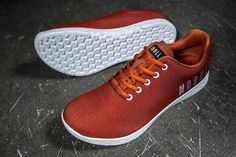 BURNT ORANGE TRAINER (MEN'S) All Red Nike Shoes, Retro Nike Shoes, Orange Nike Shoes, Orange Sneakers, Crossfit Shoes, Workout Shoes, Nobull Shoes, Mens Training Shoes