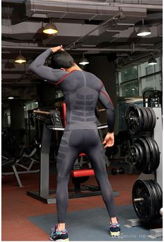 Gym Clothes for Men : 2015 Men Skinny Training Pants Cycling Pants Running Tght Athletics Suits Running Pants Sport Tights Activewear for Male. Sport Tights, Mens Tights, Sport Pants, Men's Activewear, Lycra Men, Estilo Fitness, Running Pants, Hommes Sexy, Moda Fitness