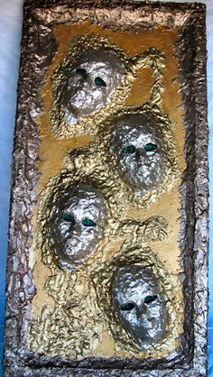 """Close Encounter"" created by John R. Kohn using Durham's Rock Hard Putty. To contact the artist, email him at bluesinbflat@yahoo.com"