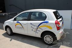 Vehicle branding done for Investmed