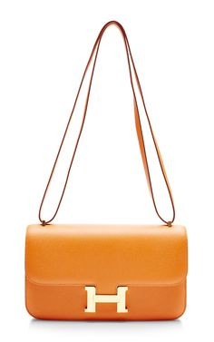 Hermes 25Cm Orange H Epsom Constance Elan by Heritage Auctions Special Collection for Preorder on Moda Operandi