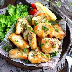 ♡フライパンde簡単節約♡むね肉の塩バターレモン焼き♡【#ヘルシー#時短#鶏むね肉】