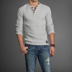 Mens Feldspar Brook Henley | Mens Tees & Henleys | Abercrombie.com