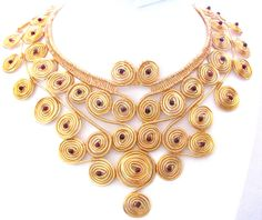 ANCIENTS  handmade necklace by RattleTattleAround on Etsy, $200.00