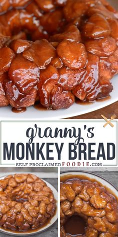 Recipes Easy Granny's Monkey Bread is a sweet, gooey, sinful cinnamon sugar treat that will be loved by young and old alike. Be careful, its dangerously addictive. Brunch Recipes, Dinner Recipes, Best Breakfast Recipes, Dessert Recipes, Best Bread Recipe, The Best Monkey Bread Recipe, Monkey Bread Recipe Without Bundt Pan, Money Bread Recipe, Mushrooms