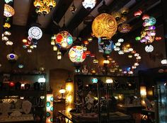 Gallery of lights at the San Jose del Cabo Art District. Be mesmerized!