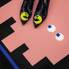Pacman shoes http://shoecommittee.com/blog/2016/4/25/pacman-shoes