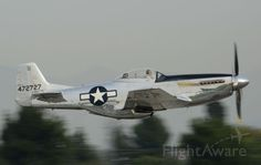 FlightAware ✈ Photo of North American P-51