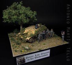 Panzer-Lehr in der Wochenschau - Missing Lynx Jagdpanzer Iv, Military Modelling, Military Diorama, Normandy, Scale Models, Vignettes, Wwii, World, Tanks