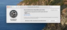 Las actualizaciones no se quedan de forma exclusiva para los usuarios de macOS Big Sur, también hay una nueva versión... Safari, Mac Os, Shape, Operating System