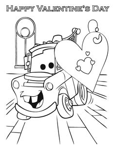 coloring pages happy valentines day | Star Wars Valentine Coloring Page | HS Valentines Day ...