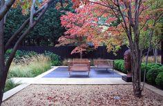 Contemporain Terrasse et Patio by Annie Pearce Landscape Architecture, Landscape Design, Garden Design, Garden Photos, Garden Structures, Contemporary Landscape, Garden Statues, Land Scape, Garden Inspiration