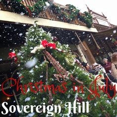 Six Little Hearts: The Melbourne Series - Christmas in July at Sovereign Hill - A Review
