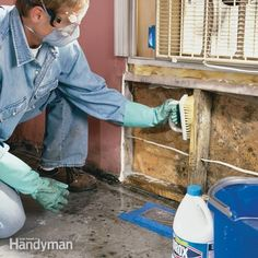HOW TO REMOVE MOLD. almost every home gets mold. we'll show you how to identify mold and eliminate the small infestations, as well as the big ones that have gotten out of hand.