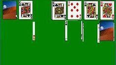 Yukon three card turnover patience - YouTube