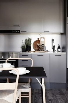 my scandinavian home : kitchen
