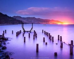 Jetty road Governors bay with lyttelton light , it's a nice walking track around the bay, just over the hill from Christchurch. Bay News, Over The Hill, World Photography, Weather Forecast, Long Exposure, New Zealand, Tourism, Track, Walking
