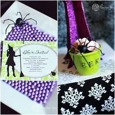 The TomKat Studio | Blog: Halloween Glam Printable Party Collection!