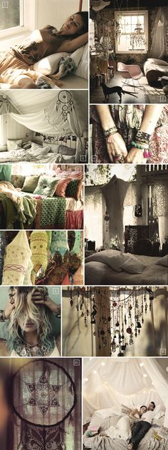 Bohemian Bedroom - http://www.hood-scoop.com/3550/bohemian-bedroom #homeideas #homedesign #homedecor