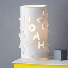 Personalised Star Night Light - gifts for babies