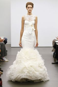 Desfile de Vera Wang na New York Bridal Week 2012. #casamento #vestidodenoiva