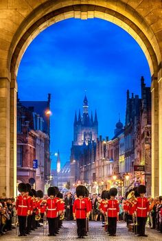 Ypres, Belgium. Playing every day at 8pm The Last Post, remembering all fallen soldiers....