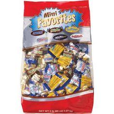 Halloween Mini Candy Bars Chocolate Mini Favorites Candies 5 Pound Bag - http://bestchocolateshop.com/halloween-mini-candy-bars-chocolate-mini-favorites-candies-5-pound-bag/
