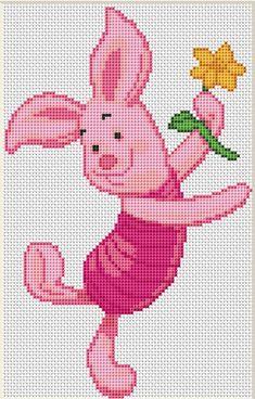 Cross Stitch Tree, Cross Stitch Books, Cross Stitch Fabric, Counted Cross Stitch Patterns, Cross Stitch Charts, Cross Stitch Designs, Cross Stitch Embroidery, Perler Bead Disney, Crotchet Patterns