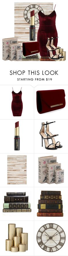"""""""COCO CHANEL NEW RED SET"""" by paustukas ❤ liked on Polyvore featuring beauty, Glamorous, David Jones, Giuseppe Zanotti, Loloi Rugs, Home Decorators Collection, ferm LIVING and Pier 1 Imports"""