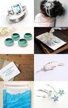 Turquoise Gifts by Laura Prill on Etsy--Pinned with TreasuryPin.com