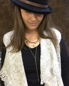 Here is our super cutie Jess looking stylish in some new styles that just arrived in store. #workit