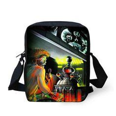 retro vintage children messenger bag cool graffiti print mens spain bags canvas crossbody bags for boys bags cool cru gear