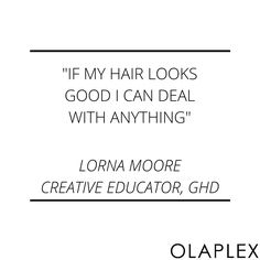 All you need is a little help from OLAPLEX and you're ready to face the world. #Olaplexlove http://www.olaplex.co.za/