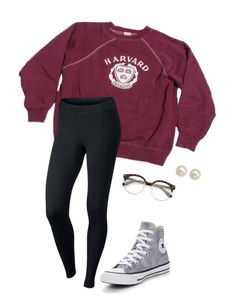 """Untitled #46"" by lily141 on Polyvore featuring NIKE, Honora and Converse"