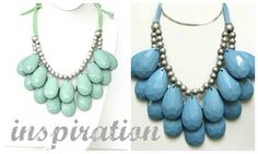 DIY Anthropologie Stormy Seas Necklace