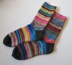 Leftover sock yarn