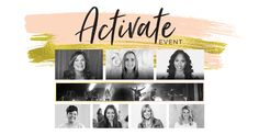 You are invited to an Activate event this fall! Christine Caine and Passion Music and an incredible array of leaders will equip us for the life God has called us to. Check out our website to sign up today! #PropelPromo #PropelWomen