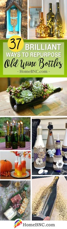 Breathtaking superb refreshed DIY wine bottles Crafts that may dazzle your company Don't throw these empty wine bottles! There are recycled wine bottle crafts so you need to use them even when … selfmade decorations Empty Wine Bottles, Wine Bottle Art, Liquor Bottles, Bottles And Jars, Recycle Wine Bottles, Decorate Bottles, Diy Bottle, Glass Jars, Mason Jars