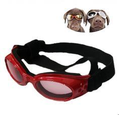 Namsan Puppy Red UV-Schutzbrillen Eyewear stilvolle Sonnenbrille Fuer Medium Hund