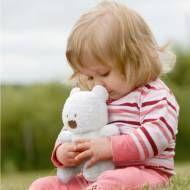 dandelion organic cotton plush teddy