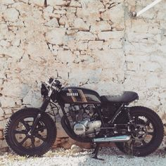 Yamaha XS400 cafe racer #motorcycles #caferacer   caferacerpasion.com