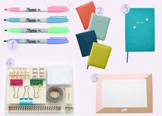 Eleven Oh Seven: The Ultimate Stationery Post. Sharpie, Anthropologie, Kate Spade