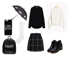 """School"" by chaimae-megherbi on Polyvore featuring mode, Uniqlo, Casetify et Kate Spade"