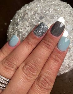 Revel Euphoric, Revel Rachel, Revel Phoebe. DIY nail dip Diy Nail Designs, Short Nail Designs, Nail Designs Spring, Simple Nail Art Designs, Easy Diy Nail Art, Acrylic Nail Designs, Diy Gel Nails, Blue Shellac Nails, Acrylic Dip Nails